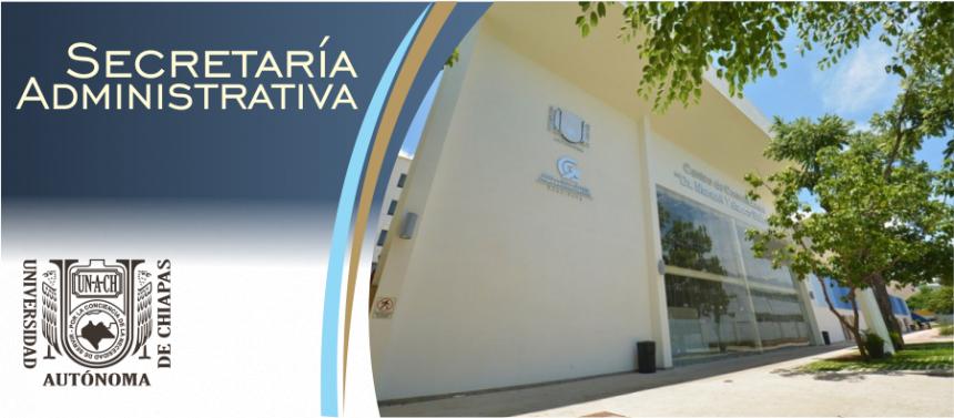 Bienvenidos Secretaría Administrativa